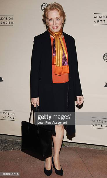 Holland Taylor during The Academy of Television Arts Sciences Presents 'Women in Prime' Arrivals at ATAS in North Hollywood California United States