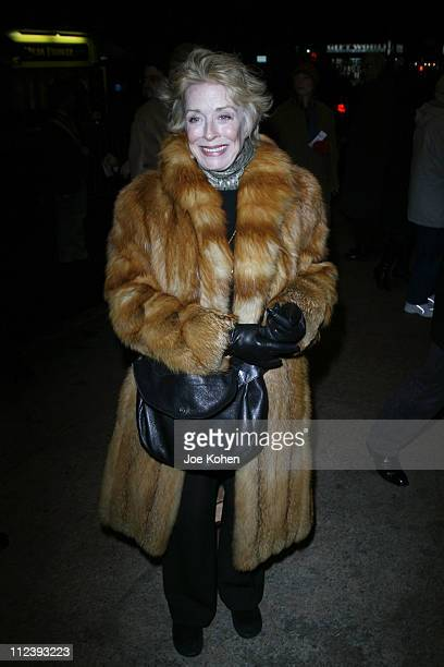 Holland Taylor during 'Translations' Broadway Opening Night Arrivals at Biltmore Theatre in New York City New York United States