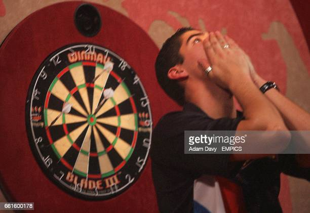 Holland's Jelle Klaasen can't beleive he's just won the final after beating Raymond van Barneveld