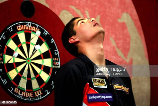 Holland's Jelle Klaasen shows releif at having just won the final