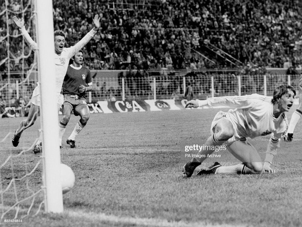 Soccer World Cup West Germany 74 Group A Holland v Brazil