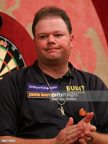 Holland's Raymond Van Barneveld after his World Professional Darts Championship final loss to countryman Jelle Klaasen