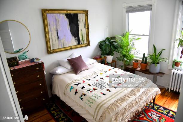 Holley Simmons decorated her bedroom on a budget as seen April 17 2017 in Washington DC Bedroom Total budget $1200 Tips Buy a cheap dresser and...