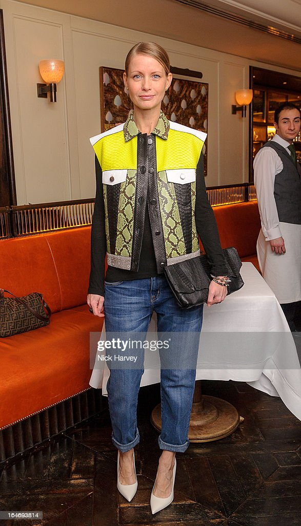 Holli Rogers attends as Net-A-Porter host private dinner to celebrate the launch of the Proenza Schouler excluisve capsule collection on March 26, 2013 in London, England.