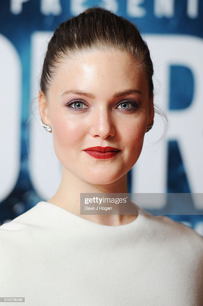Holliday Grainger attends 'The Finest Hours' Gala Premiere at Ham Yard Hotel on February 16, 2016 in London, England.