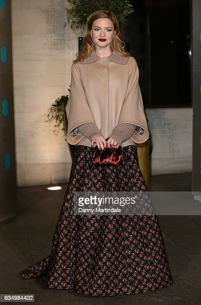 Holliday Grainger attends the official after party for the 70th EE British Academy Film Awards at The Grosvenor House Hotel on February 12 2017 in...