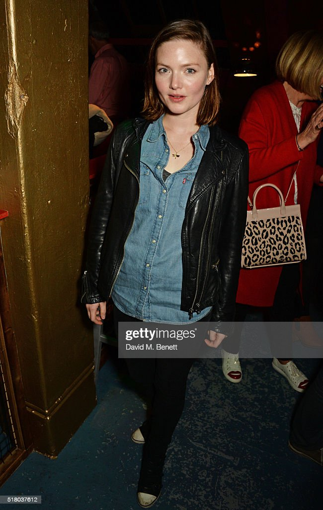 Holliday Grainger attends the press night performance of 'Bug' at Found111 on March 29, 2016 in London, England.