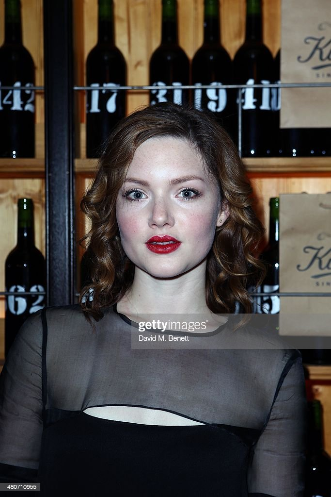 Holliday Granger attends the Kiehl's private dinner to celebrate Kiehl's most iconic products at Balthazar Restaurant on March 26, 2014 in London, England.