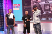 Hollow Da Don Bow Wow and Joe Budden attend 106 Park at BET studio on July 9 2014 in New York City