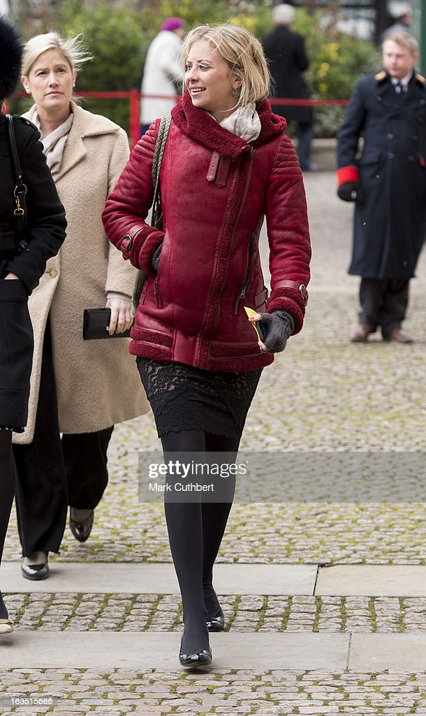 Holly Branson attends The Commonwealth Day Observance At Westminster Abbeyon March 11, 2013 in London, England.