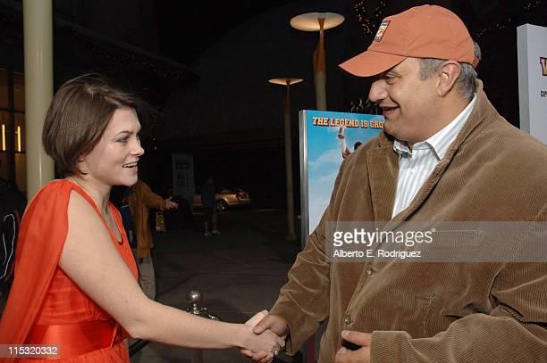 Holly Davidson and Bauer Martinez Entertainment's Philipe Martinez