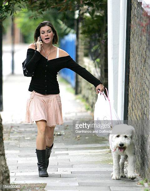 Holly Davidson during Holly Davidson Sighting at Primrose Hill in London July 25 2005 at Primrose Hill in London Great Britain