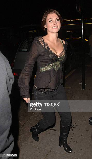 Holly Davidson during Indian Infusion Party at Pangaea in London Great Britain