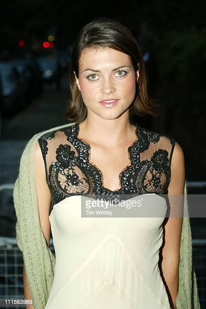 Holly Davidson during Krug Rose Celebration Party Arrivals June 28 2005 at Debenham House in London Great Britain