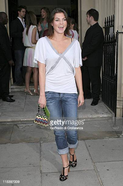 Holly Davidson during Michele Watches Kaleidoscope Summer Garden Party at London's Home House Portman Square in London United Kingdom