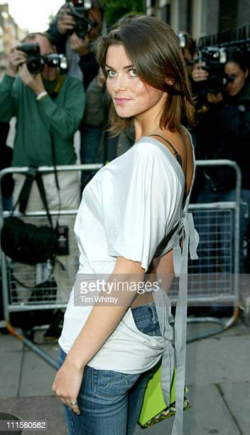 Holly Davidson during Michele Watches Summer Party at Home House in London Great Britain