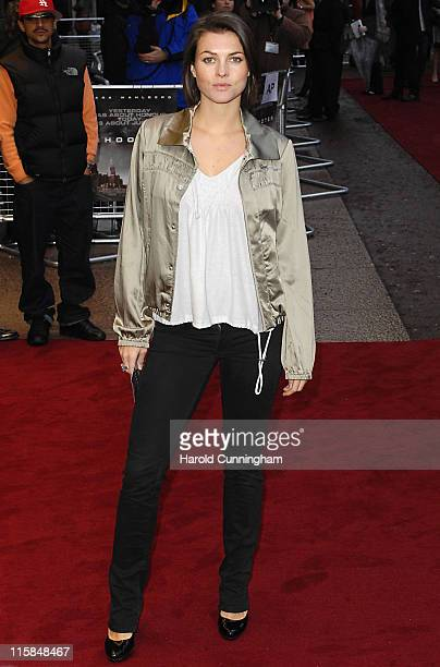 Holly Davidson during 'Shooter' London Premiere Red Carpet at Odeon West End in London Great Britain