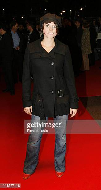 Holly Davidson during The Times BFI London Film Festival 'Venus' Gala Screening Foyer at Odeon West End in London Great Britain