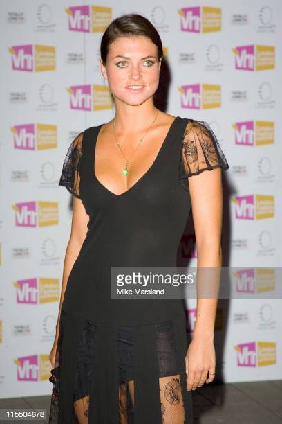 Holly Davidson during The VH1 London Fashion Showcase Party at BA London Eye in London Great Britain