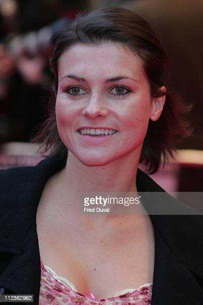 Holly Davidson during 'Wild Hogs' London Premiere Red Carpet at Odeon West End in London Great Britain
