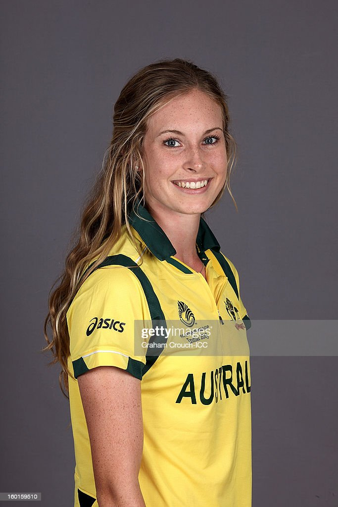 Holly Ferling of Australia attends a portrait session ahead of the ICC Womens World Cup 2013 at the Taj Mahal Palace Hotel on January 27, 2013 in Mumbai, India.