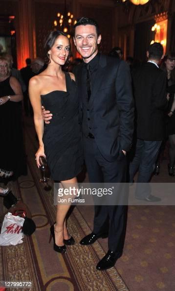 Holly Goodchild and Luke Evans...