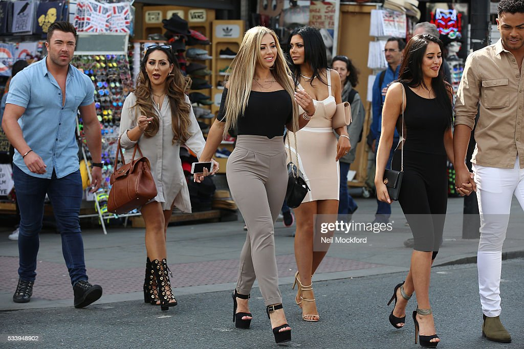 <a gi-track='captionPersonalityLinkClicked' href=/galleries/search?phrase=Holly+Hagan&family=editorial&specificpeople=7801727 ng-click='$event.stopPropagation()'>Holly Hagan</a> and Chloe Ferry seen in Camden on May 24, 2016 in London, England.