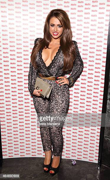 Holly Hagan attends Nuts 10th Birthday Party at Aura on January 23 2014 in London England