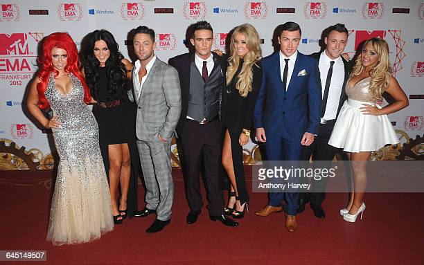 Holly Hagan Vicky Pattison Ricci Guarnaccio CharlotteLetitia Crosby Gaz Beadle James Tindale Scott Timlin and Sophie Kasaei of Geordie Shore attend...