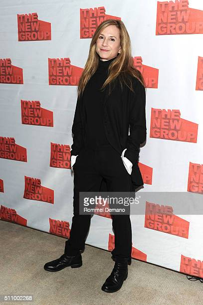 Holly Hunter attends 'Buried Child' opening night at KTCHN Restaurant on February 17 2016 in New York City