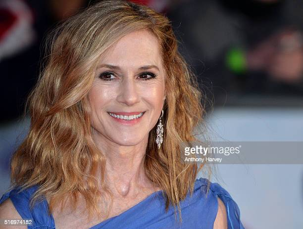 Holly Hunter attends the European Premiere of 'Batman V Superman Dawn Of Justice' at Odeon Leicester Square on March 22 2016 in London England