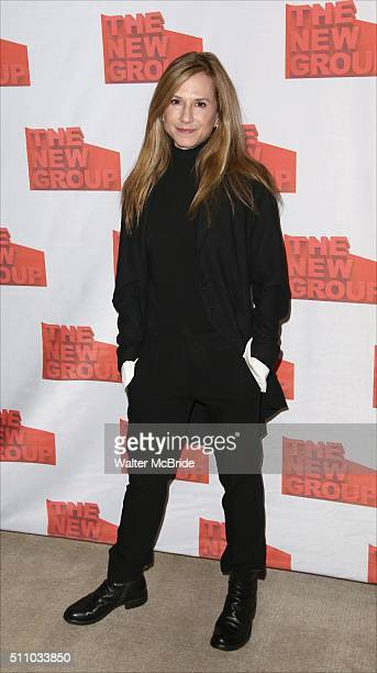 Holly Hunter attends The New Group's Official Opening Night Party for Sam Shepard's 'Buried Child' at Kitchn on February 17 2016 in New York City