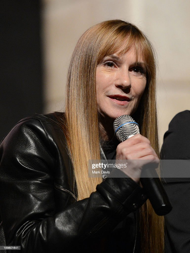 Holly Hunter attends the premiere of Sundance Channel Original Series 'Top of the Lake' on January 20, 2013 in Park City, Utah.