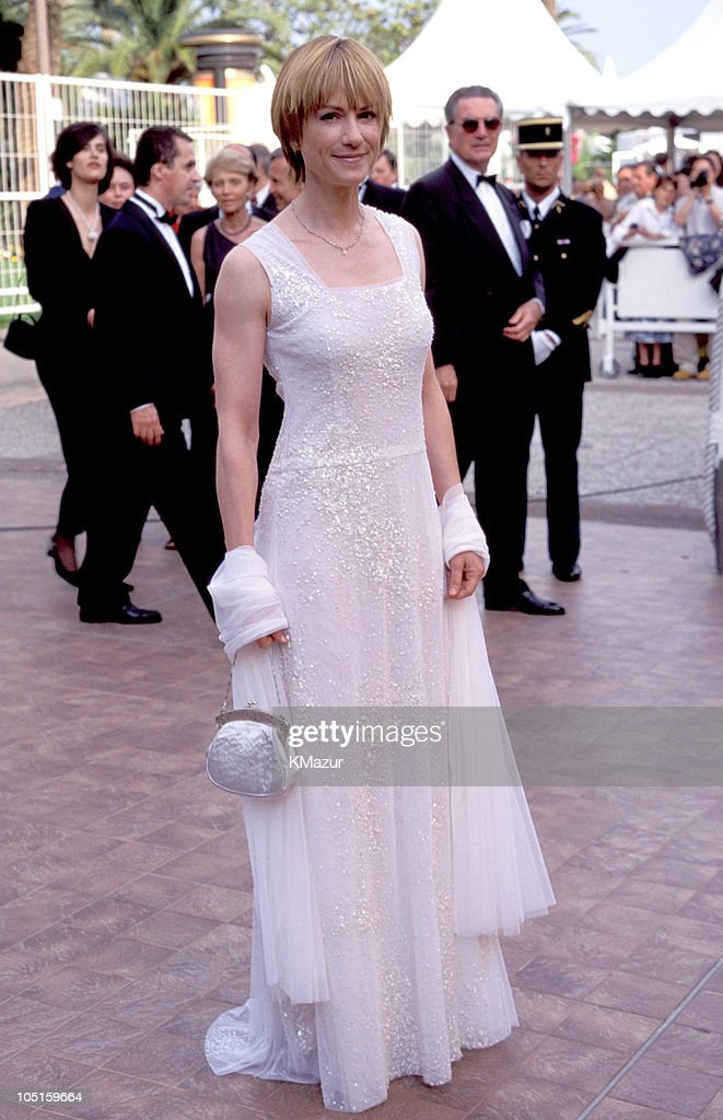 <a gi-track='captionPersonalityLinkClicked' href=/galleries/search?phrase=Holly+Hunter&family=editorial&specificpeople=201880 ng-click='$event.stopPropagation()'>Holly Hunter</a> during 1999 Cannes Film Festival - Grand Opening at Palais des Festival in Cannes, France.
