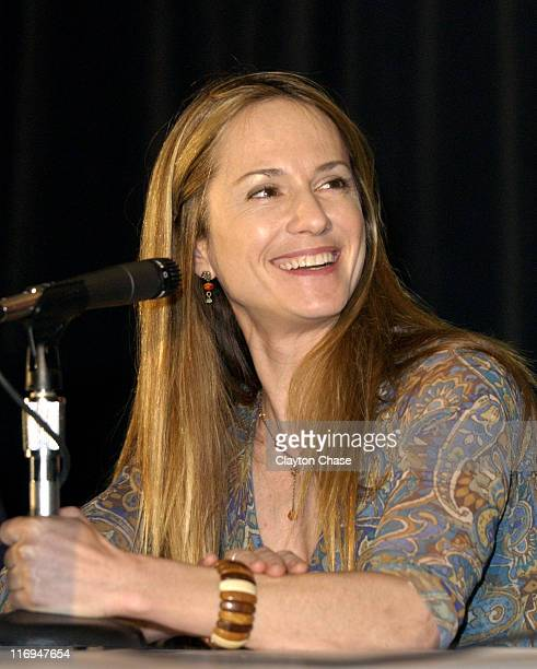 Holly Hunter during 2003 Sundance Film Festival 'Levity' Press Conference at Yarros in Park City Utah United States