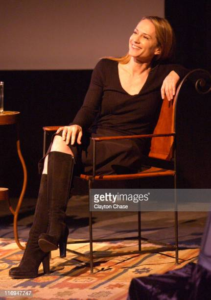 Holly Hunter in Fendi during 2003 Sundance Film Festival Tribute to Independent Vision at The Egyptian in Park City Utah United States