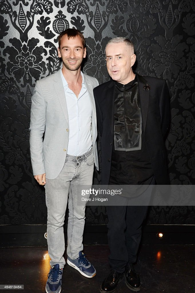 <a gi-track='captionPersonalityLinkClicked' href=/galleries/search?phrase=Holly+Johnson&family=editorial&specificpeople=580062 ng-click='$event.stopPropagation()'>Holly Johnson</a> and Charlie Condou attend an after party for 'Pride' at Odeon Camden on September 2, 2014 in London, England.