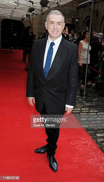 Holly Johnson arrives at the Glenfiddich Mojo Honours List 2011 awards ceremony at The Brewery on July 21 2011 in London England