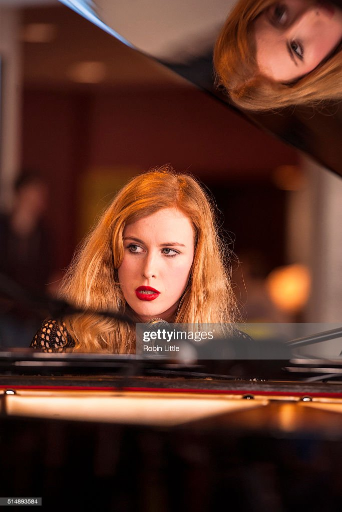 Holly Macve Performs at WOW Women of the World Festival 2016 at Southbank Centre on March 11 2016 in London England