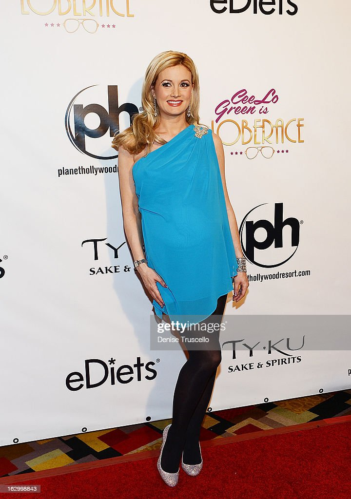 Holly Madison arrives at the residency debut of 'CeeLo Green is LOBERACE' at Planet Hollywood Resort & Casino on March 2, 2013 in Las Vegas, Nevada.