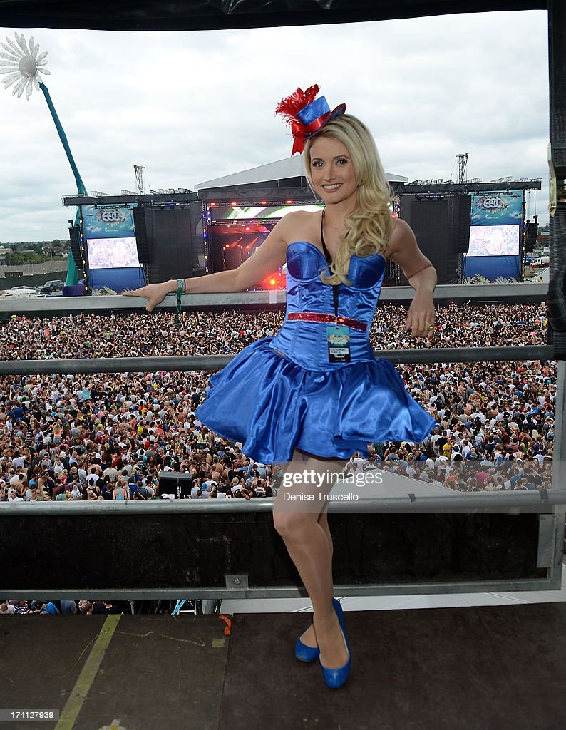 Holly Madison attends the Electric Daisy Carnival: London 2013 at Queen Elizabeth Olympic Park on July 20, 2013 in London, England.