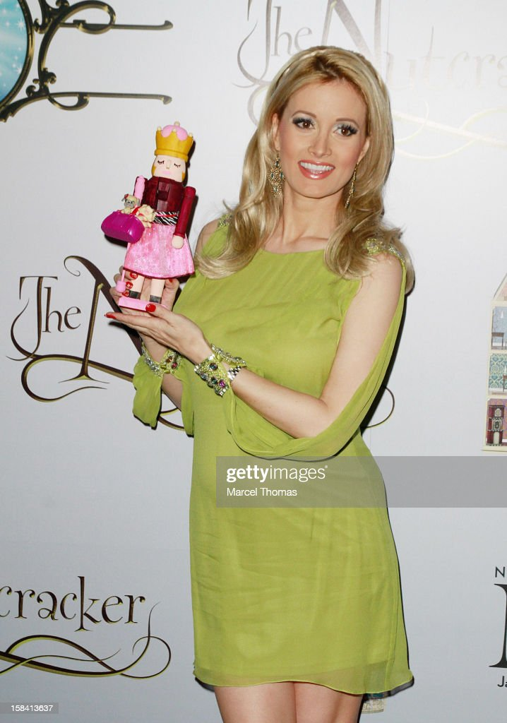 Holly Madison attends the Nevada Ballet Theatre's Production of 'The Nutcracker' opening night performance at the Smith Center on December 15 2012 in...