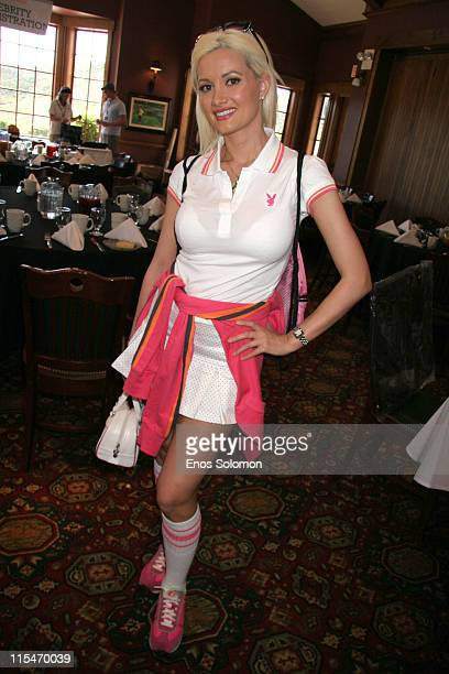 Holly Madison during 7th Annual Playboy Golf Scramble Championship Finals at Lost Canyons Golf Club in Simi Valley California United States