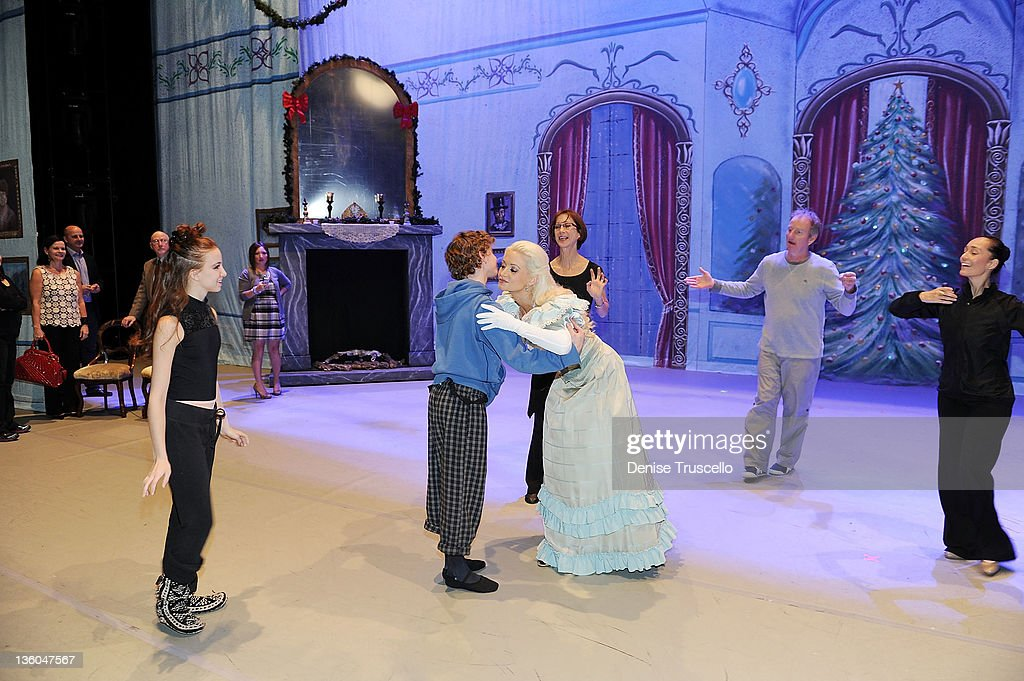 <a gi-track='captionPersonalityLinkClicked' href=/galleries/search?phrase=Holly+Madison&family=editorial&specificpeople=227275 ng-click='$event.stopPropagation()'>Holly Madison</a> during dress rehearsals for her appearance in Nevada Ballet Theatre's The Nutcracker performance at Paris Las Vegas on December 17, 2011 in Las Vegas, Nevada.