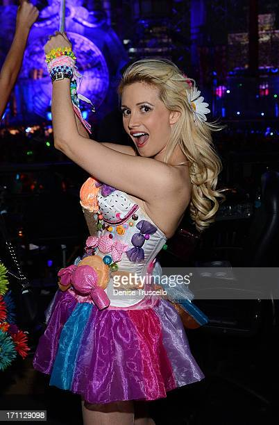 Holly Madison during the 17th annual Electric Daisy Carnival at Las Vegas Motor Speedway on June 21 2013 in Las Vegas Nevada