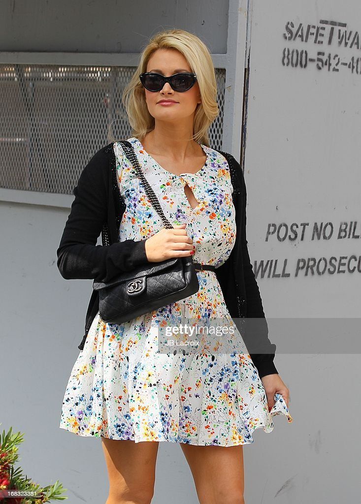 Holly Madison is seen on May 8, 2013 in Los Angeles, California.