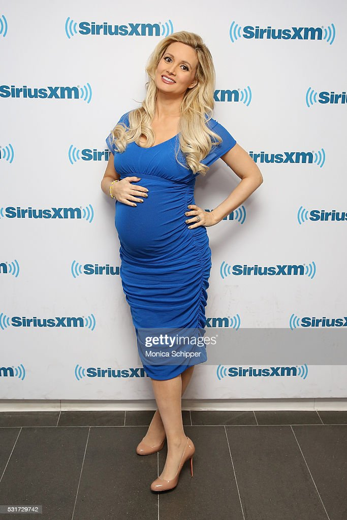 Holly Madison visits SiriusXM Studio on May 16, 2016 in New York City.