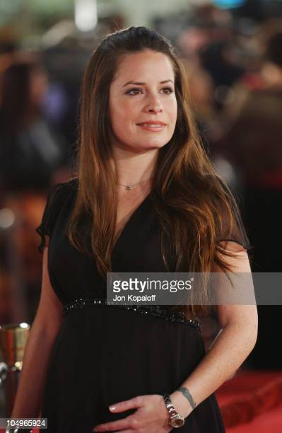 Holly Marie Combs during 'The Last Samurai' Los Angeles Premiere at Mann's Village Theater in Westwood California United States