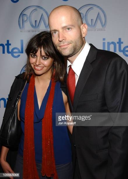 Holly Maryland and Marc Forster director of 'Finding Neverland'