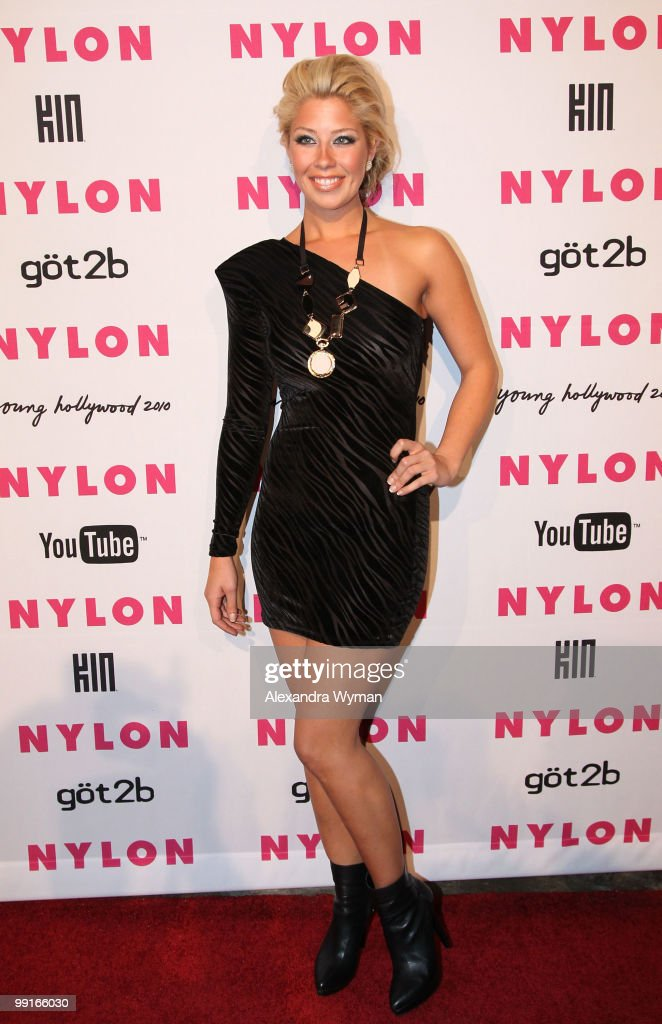 Holly Montag arrives at NYLON'S May Young Hollywood Event at Roosevelt Hotel on May 12, 2010 in Hollywood, California.